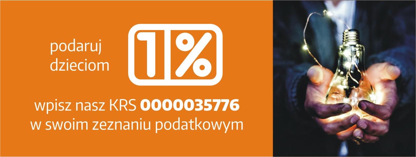 Podaruj 1 procent podatku dzieciom!